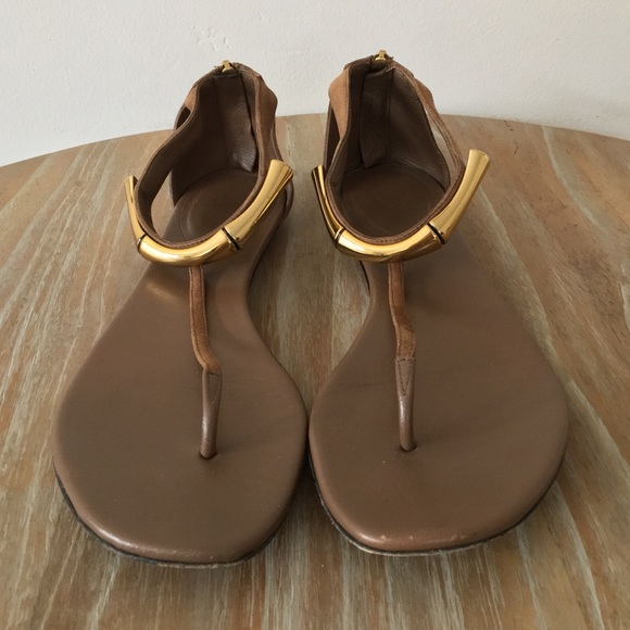 3ca8c8e50 Gucci Shoes | Bamboo Ankle Strap Sandals | Poshmark